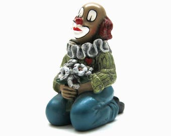 Clown from Gilde Handwerk / Flower friend