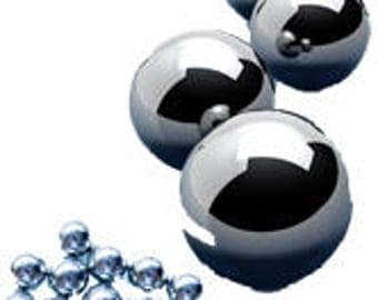 Stainless steel mixing balls for nail polish - Bag of 50