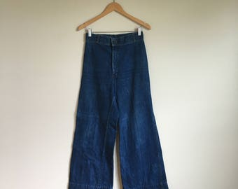 1960's Levi's Denim Jeans Elephant Bellbottoms
