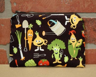 One Snack Sack, Reusable Lunch Bag, Waste-Free Lunch, Machine Washable, Vegetables, Back to School, School Lunch, item #SS86