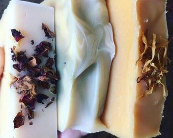 Acai Berry Goat Milk Soap - Sweet Cream Suds