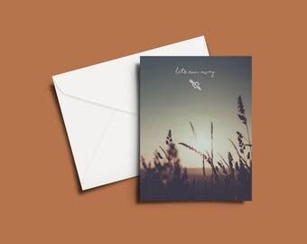 Let's Run Away Greeting Card