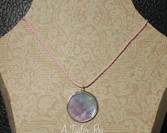 Watercolor Pendant Necklace