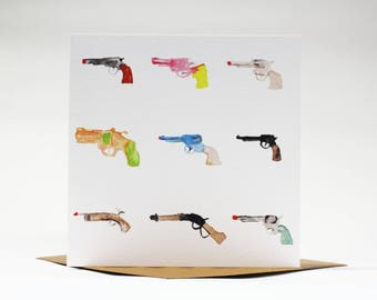 Toy Guns Card