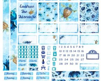 Happy Planner Mini Weekly Kit- Underwater Adventure