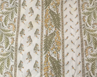 French Country Provence  rectangular tablecloth by Vent Du Sud