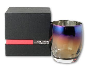 From Japan SUNFLY Titan Mirror Glass Cup