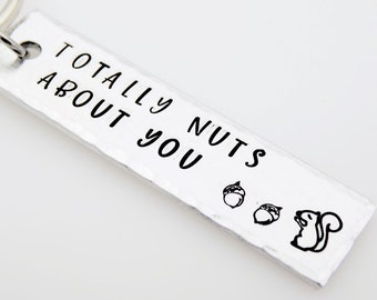 Valentines Day Gift, for him, for her, Totally Nuts about you, Gift for boyfriend, girlfriend, husband, wife, couples gift, couples gift