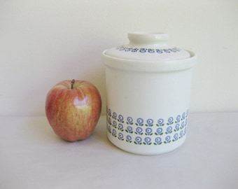 Stoneware Canister West Germany