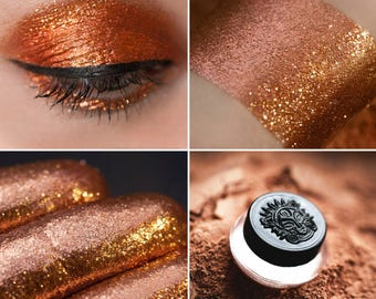 Eyeshadow: Moving Dunes - Nomad. Shining brown eyeshadow by SIGIL inspired.