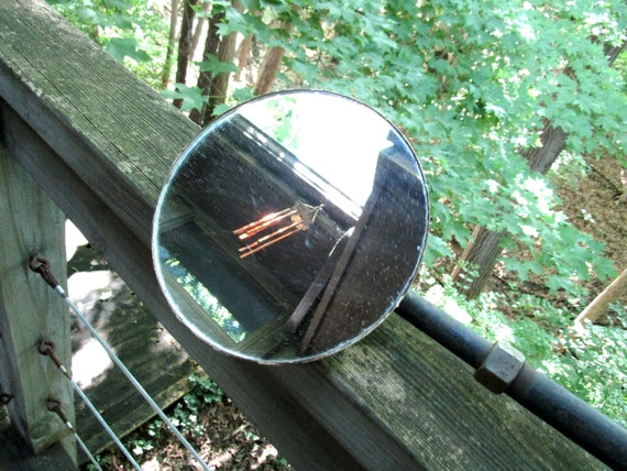 Tractor Side Mirrors : Antique tractor mirror side view rear