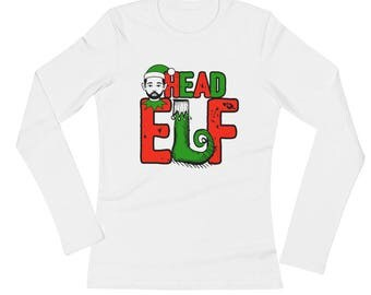 Fathers Head Elf Family Portrait Christmas Picture