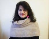 Natur'Elle : Chauffe-épaule/col-capuche (Patron tricot)