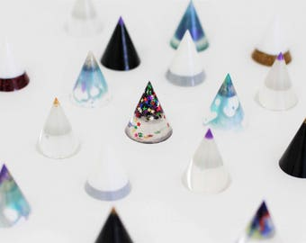 Resin Ring Cone, Star Ring Cone