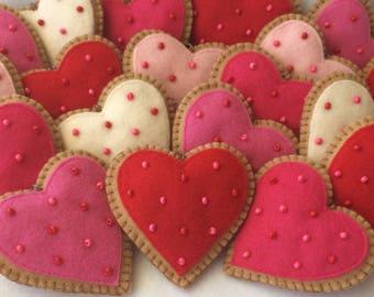 cookie valentine ornaments valentine hearts heart ornaments valentine cookies valentine decorations - Decorating Valentine Cookies