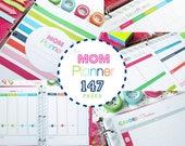 Household Binder, Home Management Binder, Family Binder, Printable Planner, Planner Pages, PDF Inserts, Mom Planner, Letter Size