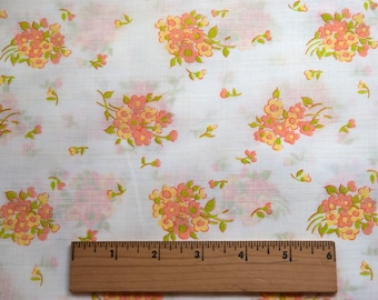 70's floral fabric