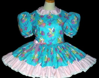 Adult Sissy Dress, Adult Baby Dress, ABDL Clothing, Adult Sissy clothing, Lolita, Crossdresser, Adult Tinkerbell Dress, Sissy Baby Panties