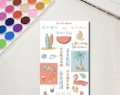 Beach Day Planner Sticker...