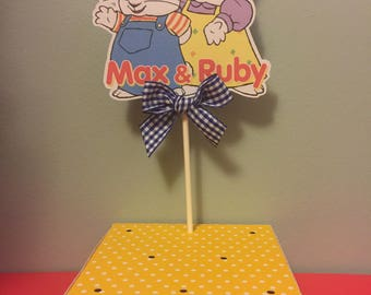 Max and Ruby Sucker or Cake Pop Display