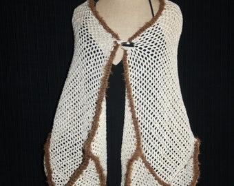 original shawl with pockets