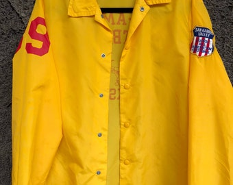 1970's Jr. All-American Football Windbreaker Jacket