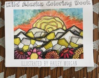 Wild Alaska Coloring Book