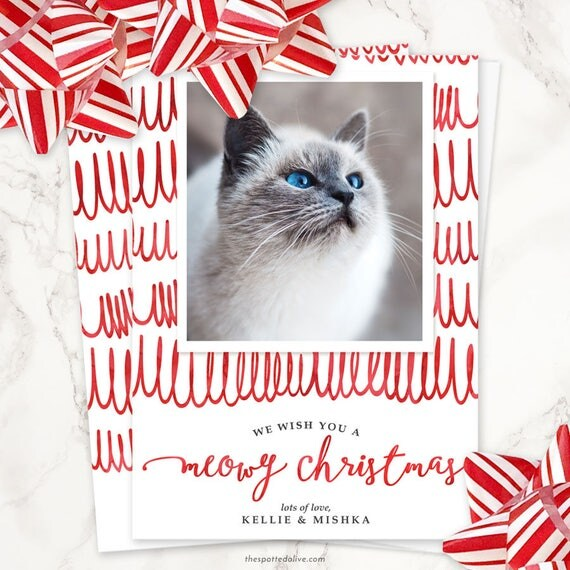 il_570xn - Pet Holiday Cards