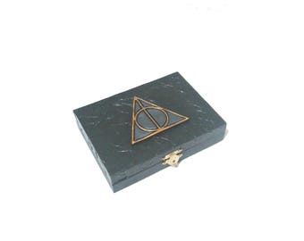 Deathly Hallows Playing Card Box, Harry Potter card box