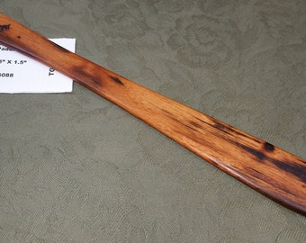 Tigerwood Goncalo Alves Miss Rose Paddles Exotic Hardwood Spatula Ruler Discipline Stick TG088