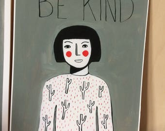 Be kind/green