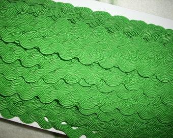3m rickrack, green (401)