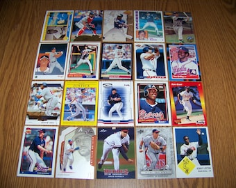 100 Atlanta Braves Baseball Cards