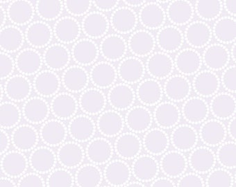 Mini Pearl Bracelets in Heather by Lizzy House for Andover Fabrics, by the fat quarter or half yard