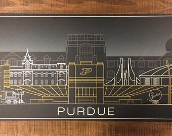 Purdue Boilermakers Poster