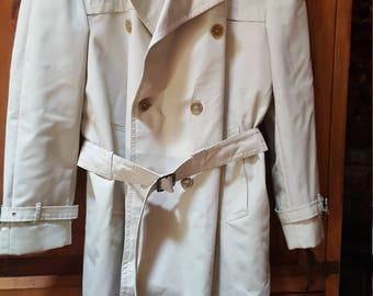 Belted Raincoat Lined Made In Finland