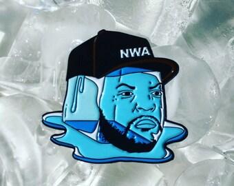 Ice Cube as an Ice Cube Enamel Pins