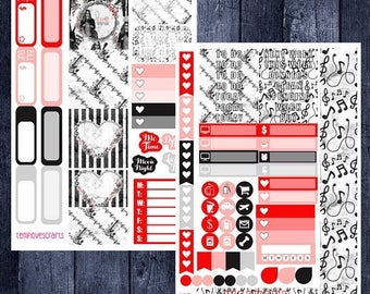 Weekend Sale Music Lover Kit for Personal Planner