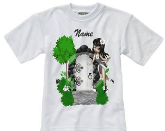 Personalised T-Shirt - Fairy - Name - Style 1