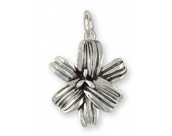 Lily Charm Jewelry Sterling Silver Handmade Flower Charm LLY-C