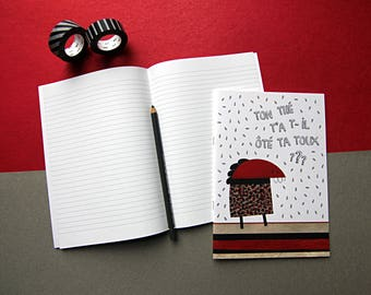 BAM notebook / / / 48 lined pages