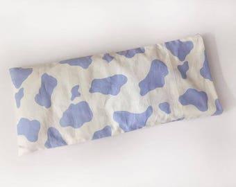 Moo Moo Purple Beanie Pillow