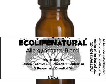 SALE Allergy Soother Essential Oil Blend