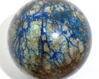 Azurite Malachite Sphere Ball Russia Altai