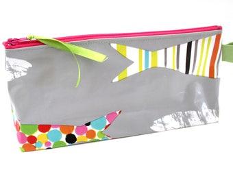 Trousse à crayons enfant colorée
