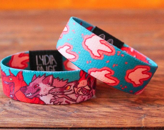 Eliminated Fabric Bracelet