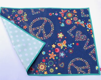 Desk pad, durable placemat, Malunterlage, desk mat, Oilcloth