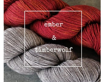 Ember & Timberwolf Yak Attack Pack for Kirsten Kapur MKAL