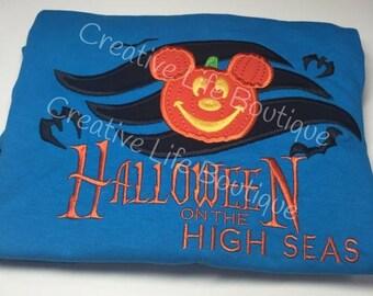 ON SALE Disney Halloween on the High Seas- Youth