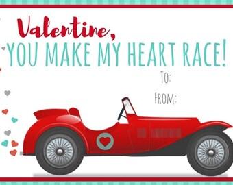 You Make My Heart Race!